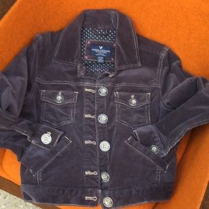 American eagle outfitters corduroy jacket XS girls